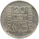 1 Kilo argent 20 francs Turin